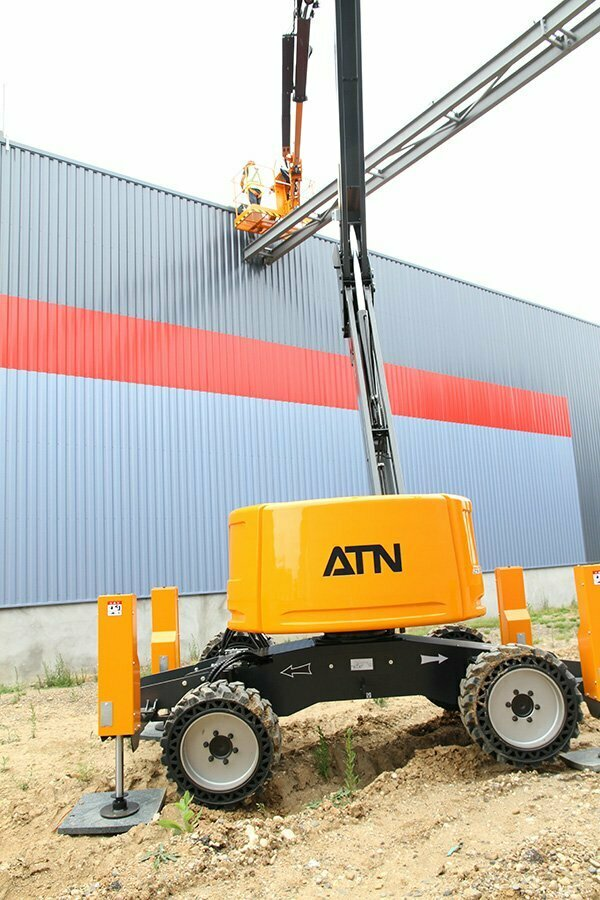 ATN Articulating Boom Lift With Stabilisers Zebra 16 Stab 3