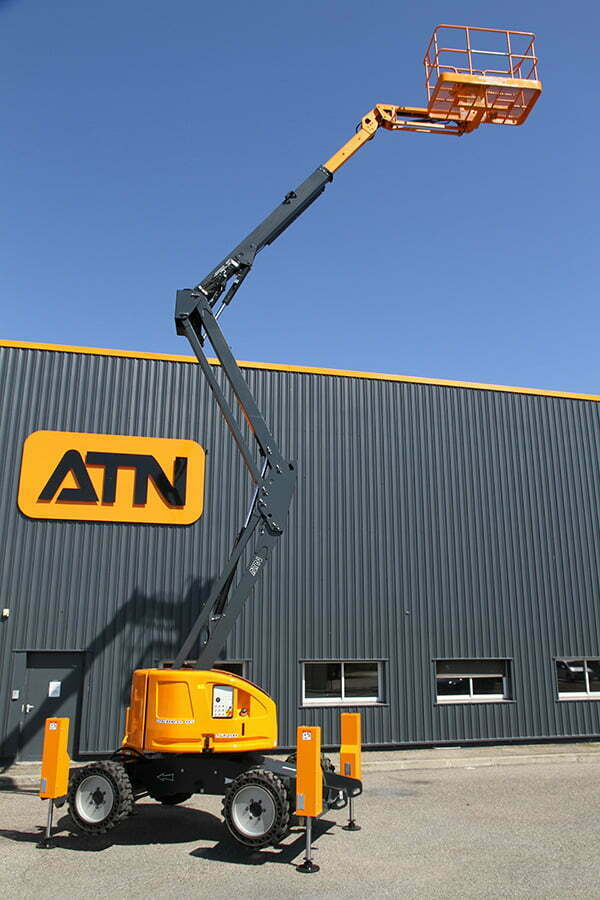 ATN Articulating Boom Lift With Stabilisers Zebra 16 Stab 4