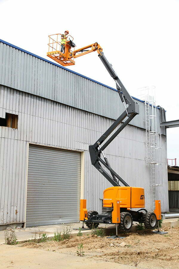 ATN Articulating Boom Lift With Stabilisers Zebra 16 Stab 5