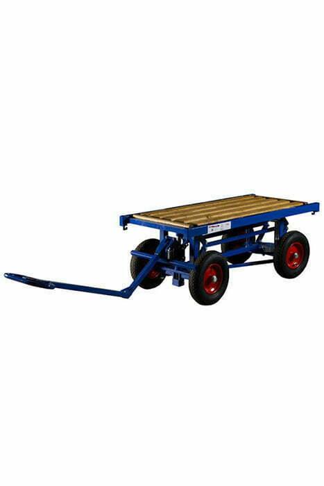 Hoj och sankbar gipstransportvagn 1