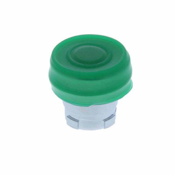 Tryckknapp med gron hatta IP 04790